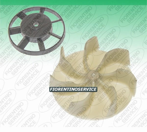 Vorwerk Compatibile Kit Ventole per Motori - Folletto Vk 120 - 121 - 122