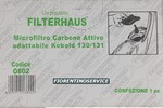 Vorwerk Vorwerk Compatibile Filtro Carbone - Folletto Vk 131